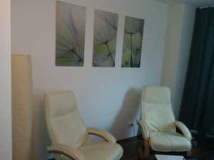 Therapieraum Psychotherapie Düsseldorf